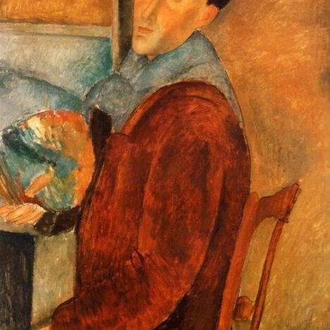 Modigliani all'interno della mostra di Chicco Calleri, attraverso lo stesso filo conduttore della grande Arte